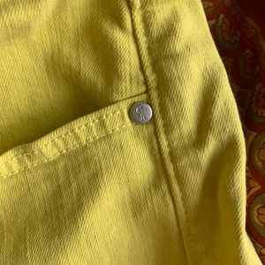 Anthropologie Shorts - Anthropologie Pilcro Jean Shorts Neon Yellow 29 8